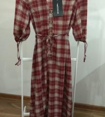 Asos haljina karirana