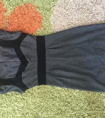 Crno siva haljina
