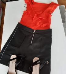 Sinsay kozna suknjica