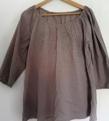 🌻 SADA 400 🌻 Novo! Boho braon bluza L XL