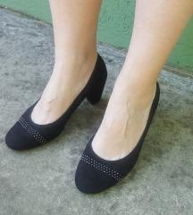 ARA crne kozne cipele UK6/F 1/2 NOVO