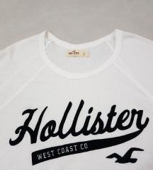 Hollister original zenska bela majica dugih rukava