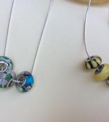 Prelepa ogrlica sa 3 priveska