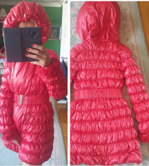 BLUMARINE original PERJANA jakna sa krznom