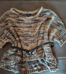 AMISU New Yorker baggy džemper