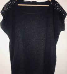 Pimkie Crno/siva majica