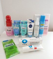 Set proizvoda za negu lica - 10 kom
