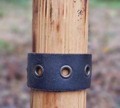 Kožna narukvica Spyhole (Prirodna koža)