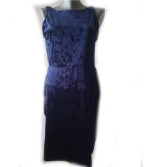 *H&M* svečana teget haljina
