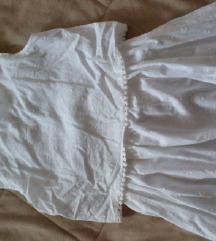 Mango savrsena haljina za devojcice od bele cipke