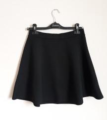H&M skater crna suknja