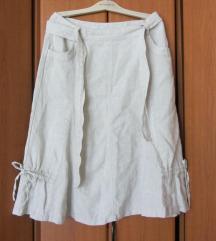lanena  suknja  40