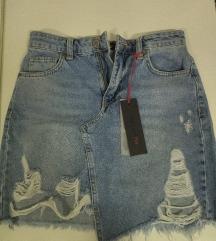 Teksas suknja s-xs