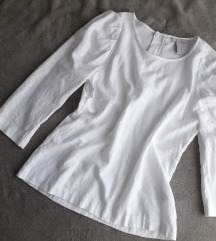 H&M bluza sa puff rukavima