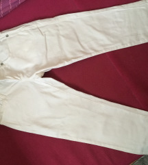 Stradivarius bele pantalone