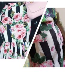 SNIŽENO! 1750 RSD Kompet floral suknja i bluza