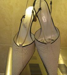 MAFER sandale od albino pitona   39/25,5-NOVO