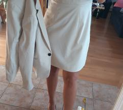 Komplet haljina i sako Hm SADA 1900 DIN