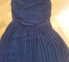 Mango haljina plisirana