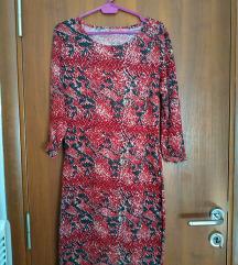 Uska haljina sa printom