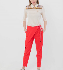Crvene pantalone P. S. Fashion