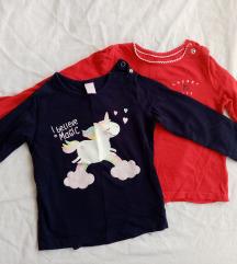 Obe bluzice za devojcice 350