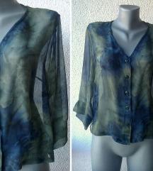 bluza košulja svilena providna br L CAMPUR