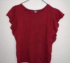 Crvena OVS majica sa zanimljivim rukavima