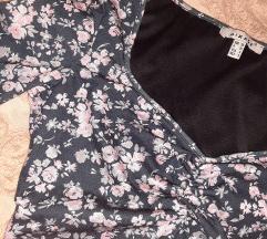 Cvetna zimska haljina