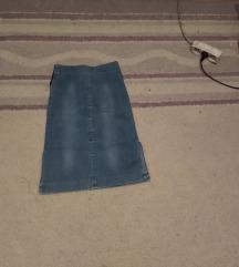 Teksas suknja ispod kolena