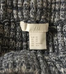 H&M Knit midi suknja kao NOVA
