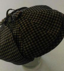 Engleska markirana kapa ala Sherlock Holmes