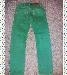 Zara Slim Fit zelene 4-5god
