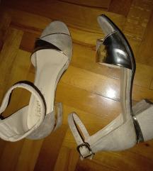 Sandale krem 38