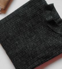 PRIMARK olive green meko pamucno krupno tkanje