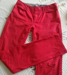 Tommy HILFIGER crvene pantalone