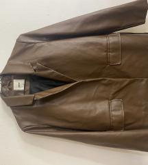 NOVA oversized kozna jakna