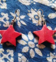 Crvena zvezda minđuše