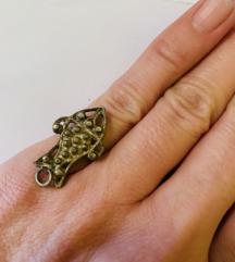 Srebreni prsten riba