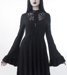Sabrina Ruffle Dress XS Killstar