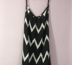 Crno-bela haljinica