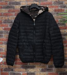 Muška prošivena jakna sa kapuljačom