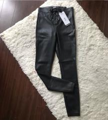 Zara nove kožne pantalone