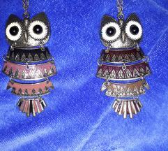 2 ogrlice sa sovom za 300