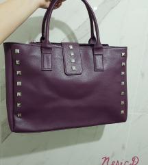 Ljubicasta torba sa nitnama NOVO
