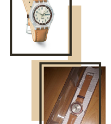 Swatch original kozni sat
