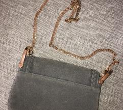 H&M siva torbica