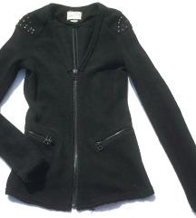 PULLBEAR punija jakna sa nitnama kao NOVO  S