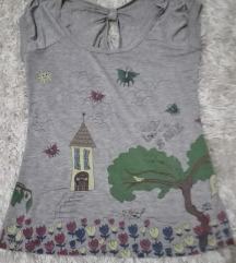 Siva letnja majica
