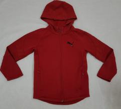 Puma original deciji crveni duks sa kapuljacom